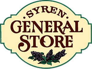 Syren General Store logo from Syren, Wisconsin.