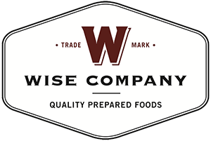 Wise Company: Quality Prepared Foods logo.