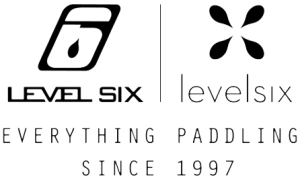 Level Six: Everything Paddling Since 1997 logo.
