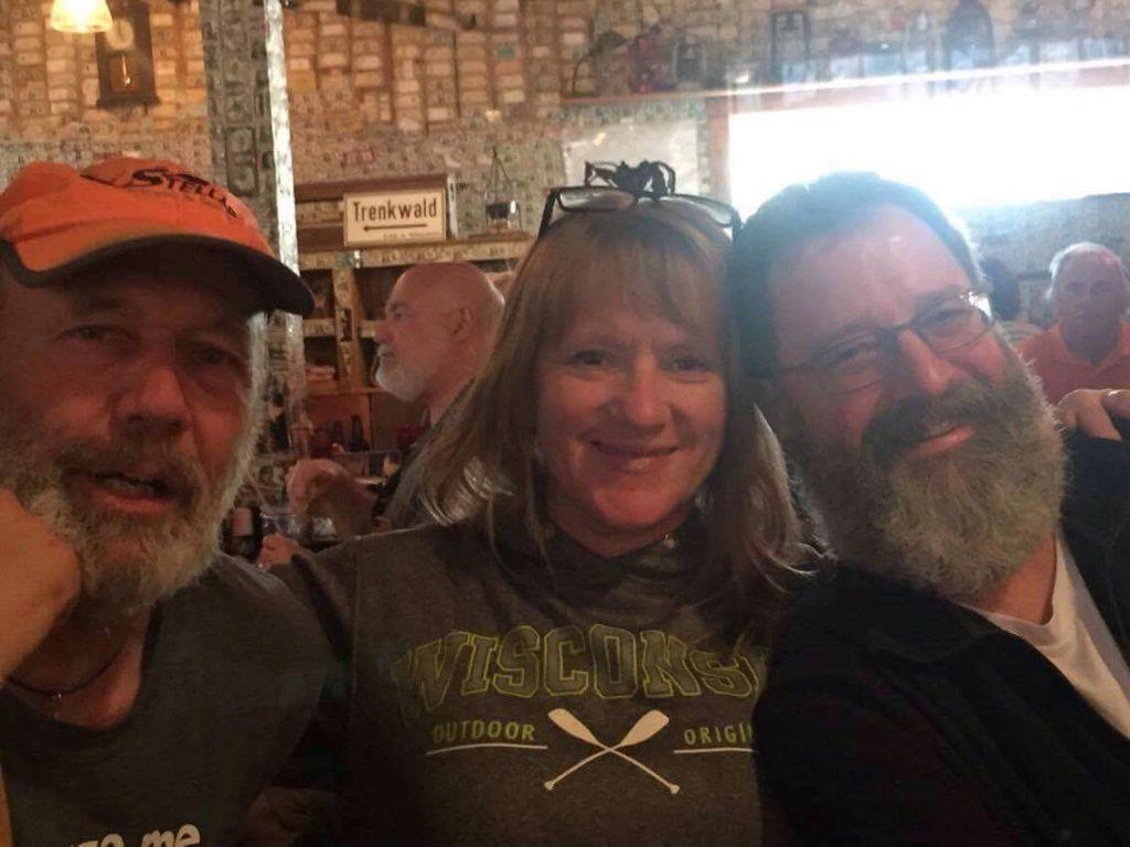 Joe Zellner, Peggy Gabrielson and Uncle Jocko