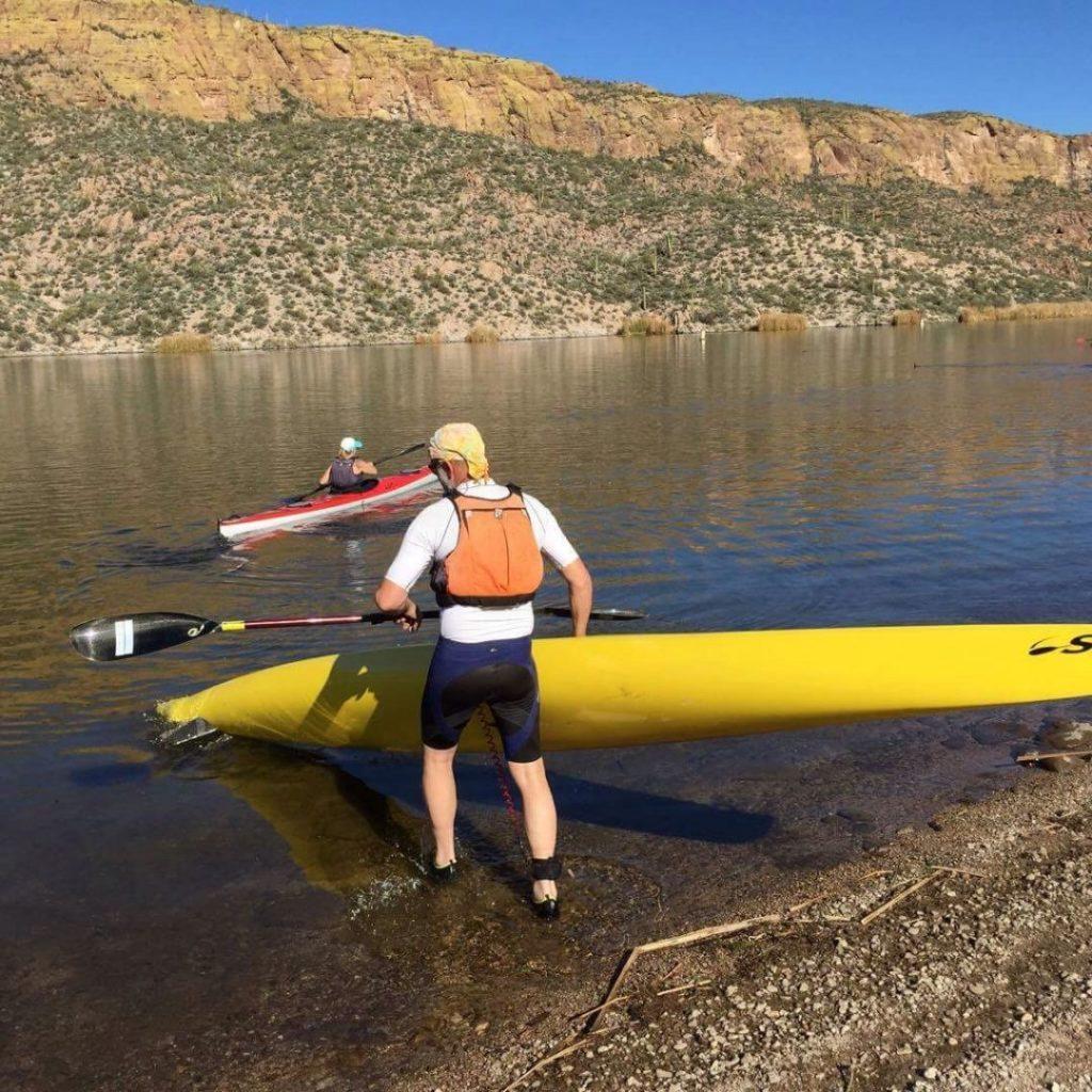 jow-entering-water-pegg-paddling