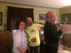 2 Paddling 5 family sendoff party.
