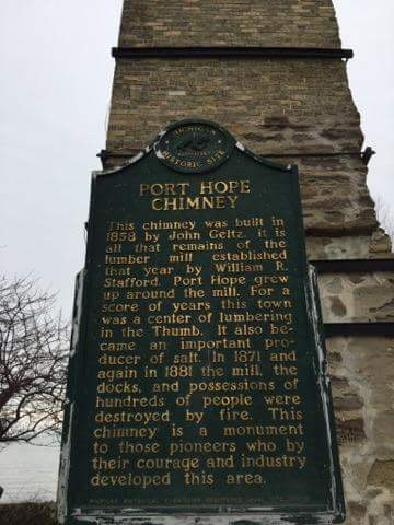 Port Hope Chimney sign.