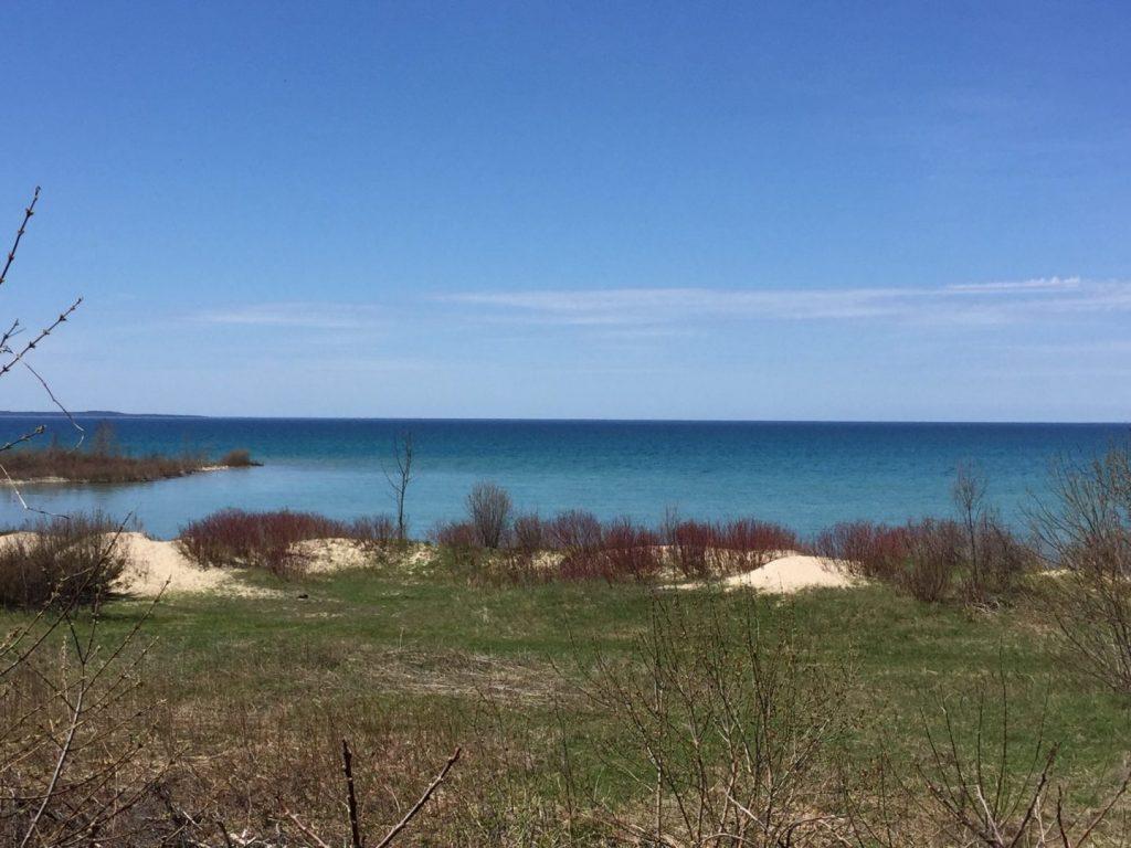 Norwood Michigan shore 4/25/17.