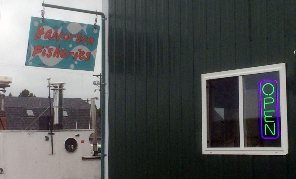 Halvorson Fisheries in Bell Marina, Cornucopia, WI 54827.