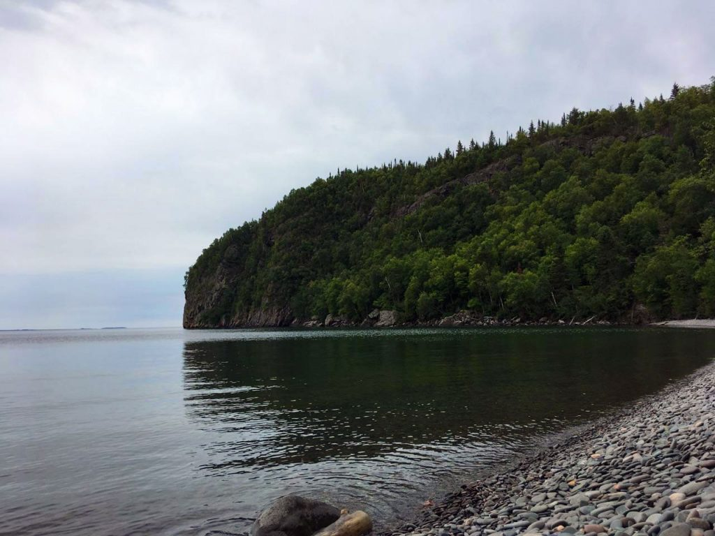 Lake Superior in the Nipigon area.