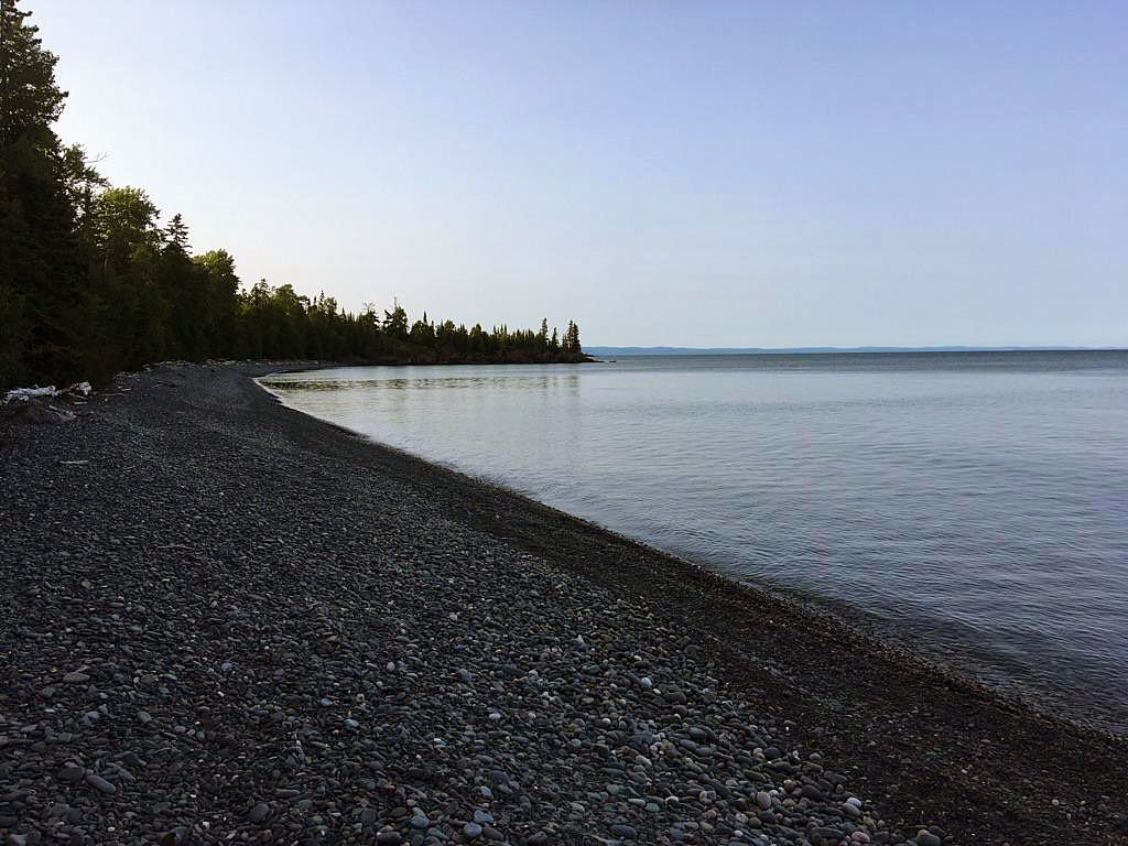 Pie Island Lake Superior shore.
