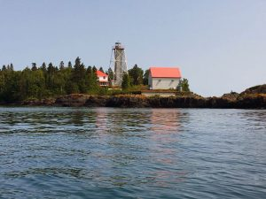 Porphyry Island Lighthouse.
