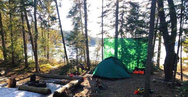 Lake Superior campsite on 5/3/18.