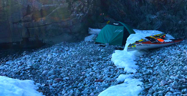 Lake Superior campsite on 5/4/18.