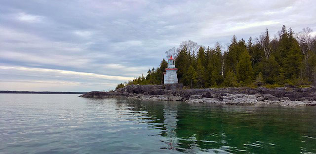 Michael's Bay Lighthouse, Ontario Canada 5-23-18.