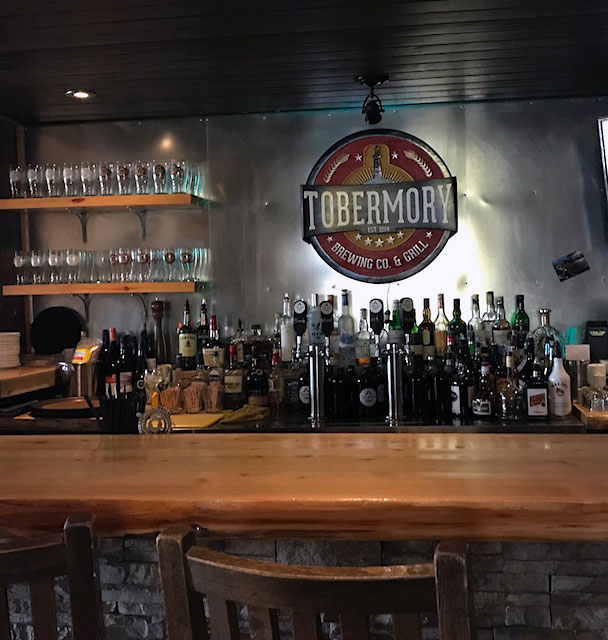 Tobermory Brewing Co. & Grill 28 Bay St, Tobermory, ON N0H 2R0, Canada 5-23-18.